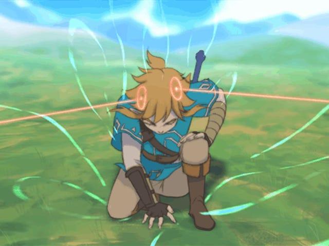 Fläktar Skapa kort, fantastisk <i>Breath Of The Wild</i> animationen