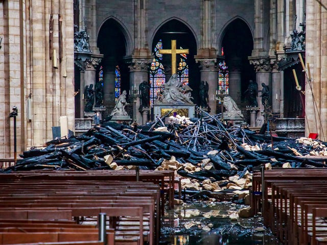A Tale of Two Churches: How the Notre Dame Cathedral Illustrates America's Unwillingness to Acknowledge Black Suffering
