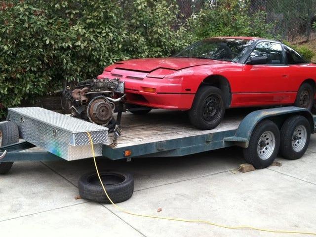 I Resurrected A $300 1989 Nissan 240sx