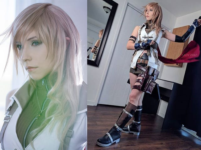 Cosplayer Becomes Final Fantasy XIII's Lightning