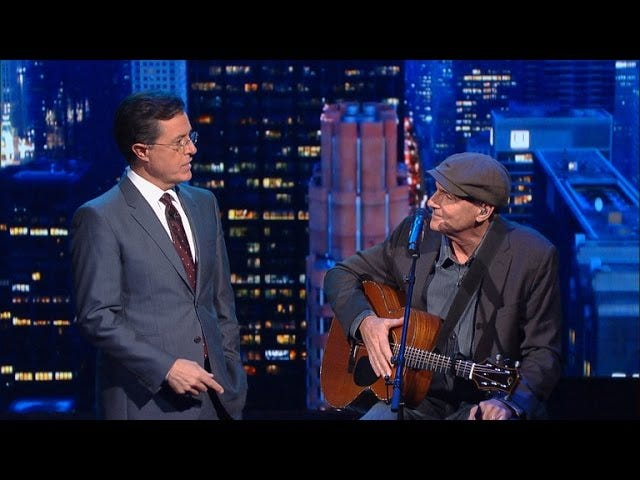 James Taylor - Fire and Rain (2015 revision)