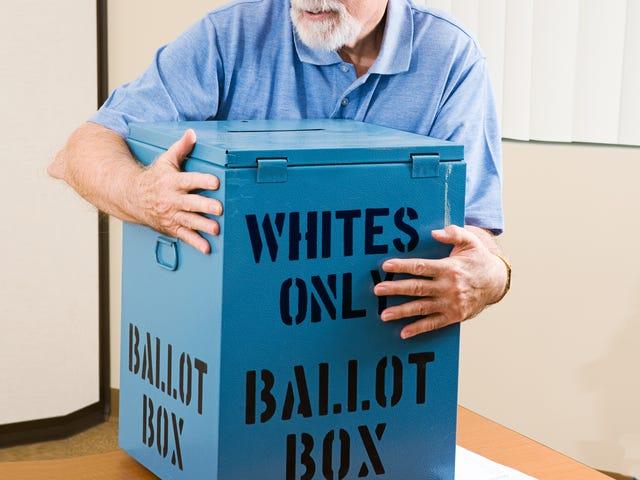 Kẻ gian lận không bao giờ thắng ... Ngoại trừ khi đảng Cộng hòa đàn áp bỏ phiếu đen