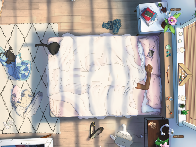 A Game About Staying In Bed All Day