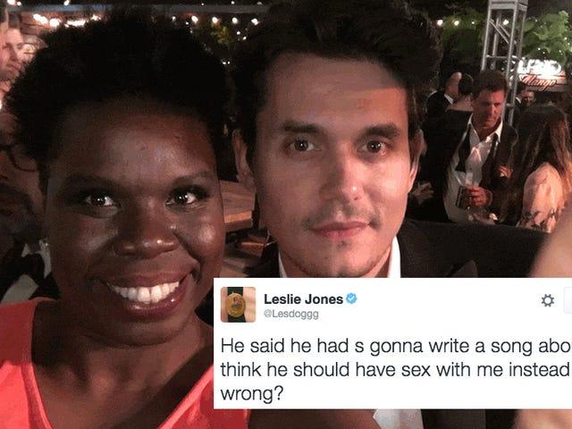 Leslie Jones ville foretrække John Mayer have sex med hende, så skriv en sang om hende