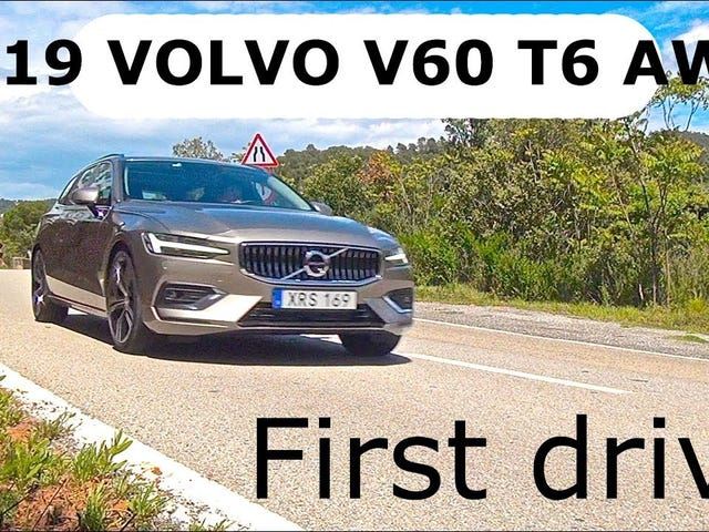 So 2019 V60 reviews are coming in