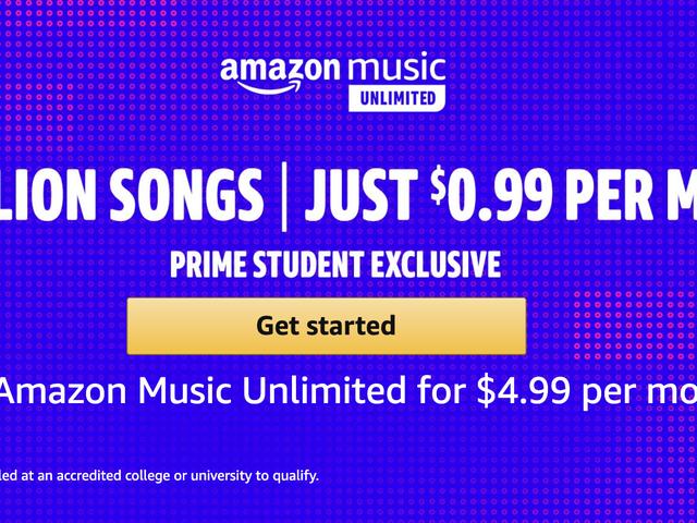Μείνετε στο σχολείο, τα παιδιά: Οι πρωταρχικοί σπουδαστές μπορούν να πάρουν Amazon Music Απεριόριστα για $ 1 το μήνα
