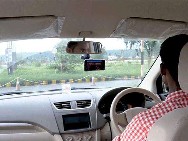 Microsoft a créé une application pour smartphone qui peut administrer des tests de conduite sans instructeur