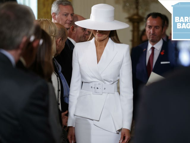 Melania Trump Has Been Wearing a Lot of Funeral Outfits This Week, In My Opinion