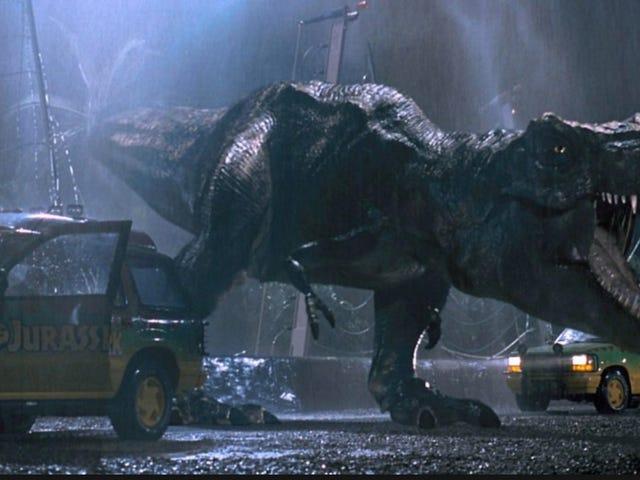 De 10 bedste øjeblikke i <i>Jurassic Park</i> , rangert
