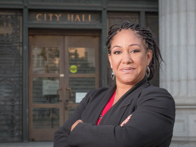 Banging From the Inside: Activist Cat Brooks Runs to Become Oakland's First Black Woman Mayor