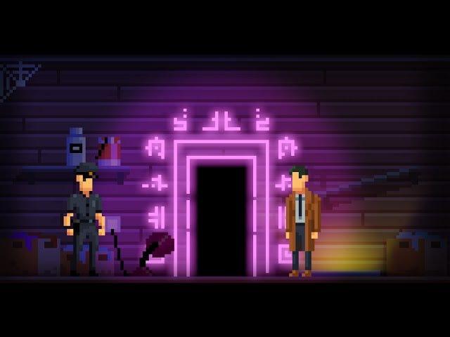 Darkside Detective es un videojuego 2D X-Files