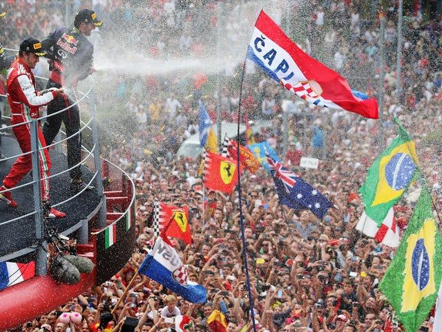 Формула 1 може замінити Grand Prix Ferrari на нову гонку в Лас-Вегасі