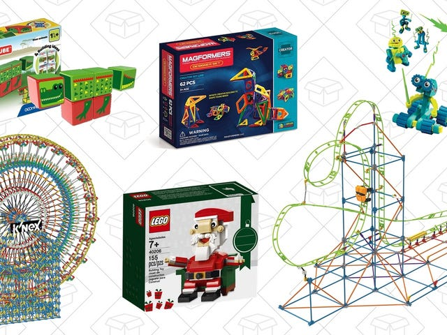 Build Up Your Building Set Collection With This Amazon Gold Box