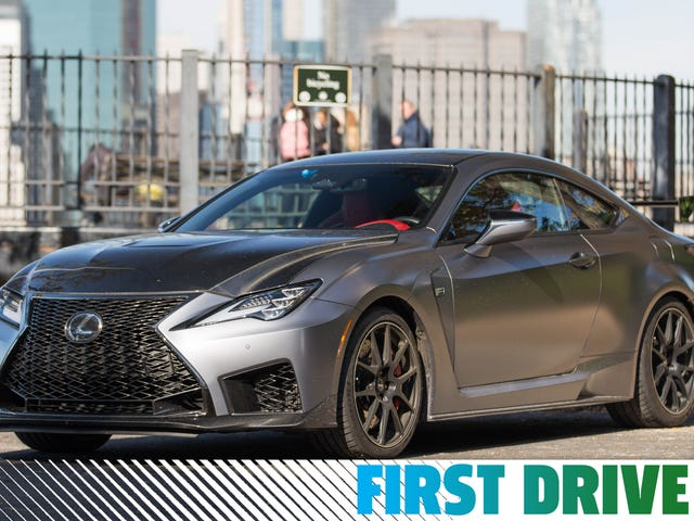 The 2020 Lexus RC F Track Edition Is More Cruise Than Missile