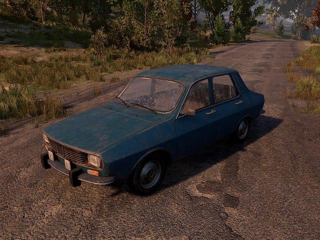 Pequenos impactos de mudança como os jogadores se aproximam de carros em <i>Battlegrounds</i>