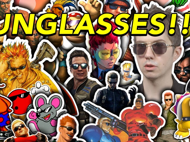 Viele schreckliche Videospielcharaktere tragen eine Sonnenbrille