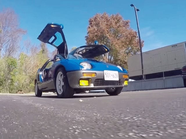 The Autozam AZ-1 Is The Coolest Car You Can Own If You're Willing To Make Sacrifices