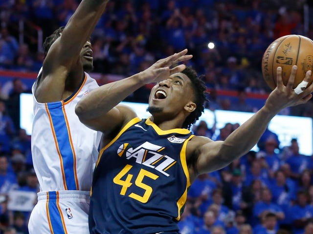 Donovan Mitchell Isn't Wasting Any Time