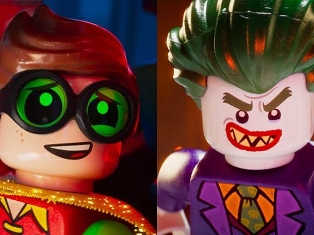 <i>The Lego Batman Movie</i> Robin e o Joker do <i>The Lego Batman Movie</i> não são tudo o que todos nós esperávamos