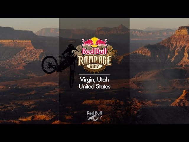 PSA: Red Bull Rampage is LIVE now!