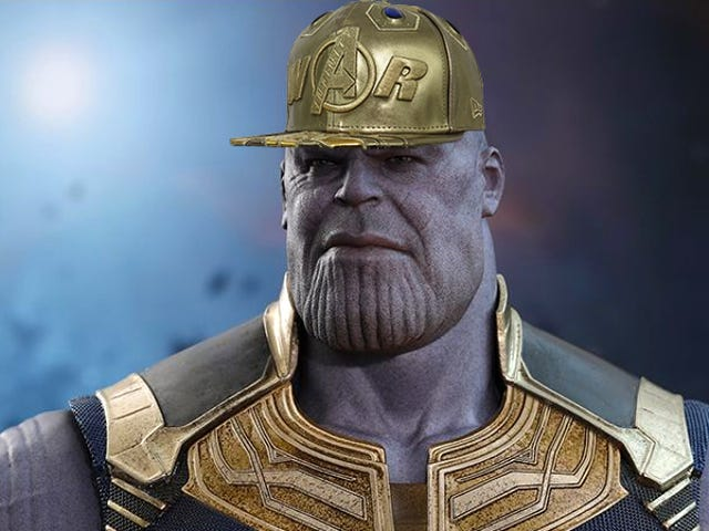 Forget the Gauntlet, Thanos Looks Far More Intimidating in This $100 Avengers: Infinity War Hat