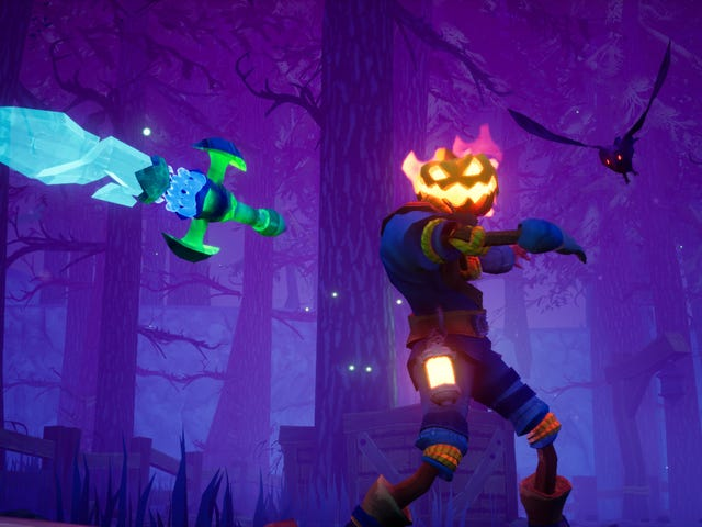 Pumpkin Jack Is Colorful Halloween Action Game