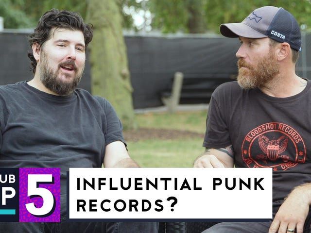 From Fugazi to Leatherface:Hot Water Music picks its most influential punk records
