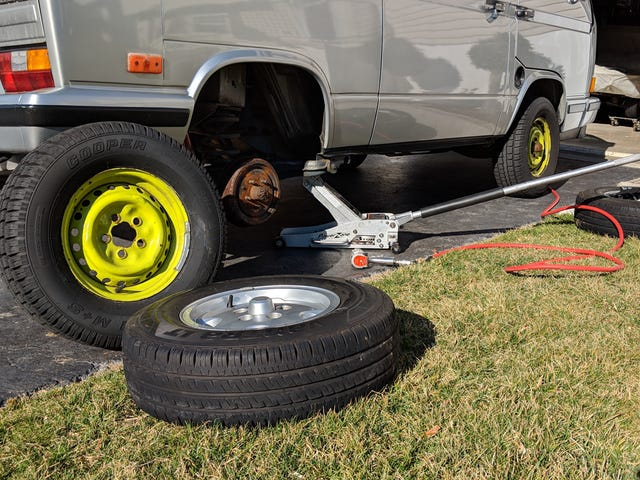 How To Ruin A Set Of Tires In 1000 Miles Or Less.