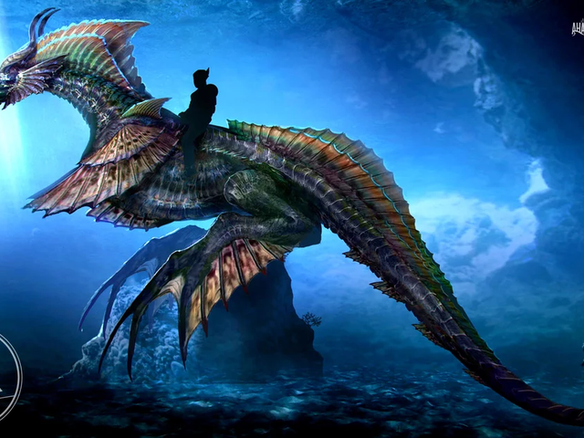 Aquaman No Longer Rides a Sea Horse in His Movie, Because Sea Dragons Are Much More Manly
