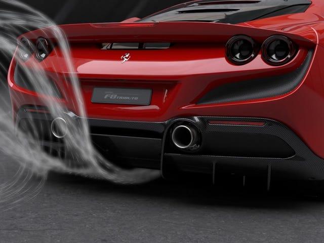 Ferrari F8 Tributo bruger en flok flyvemaskiner til at gøre det hurtigere end nogensinde
