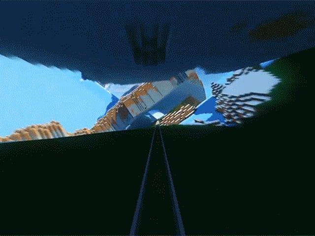 Tag en Trippy Ride Down <i>Minecraft</i> &#39;s Acid Interstate