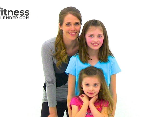 Latihan berat badan 25 minit yang boleh anda lakukan dengan anak-anak anda