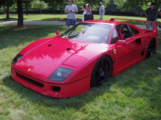 The Stan Hywet Fathers Day Car Show 2018