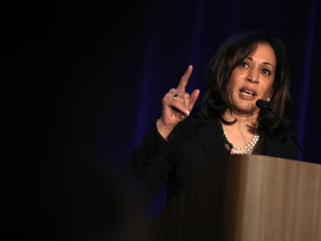Kamala Harris to Corporate America: Give Women Their Fair Share of the Bag or Else