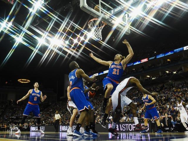 Knicks Ve Bucks Bir Knicks-Bucks Oyunu Oynadı, Ama Londra'da