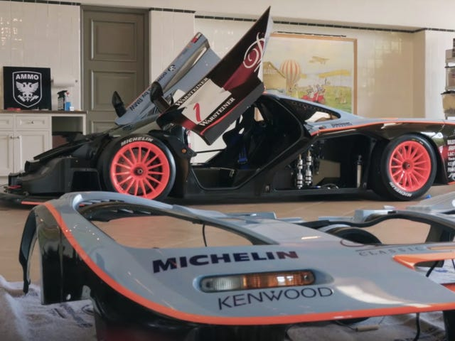 Why It Takes 138 Hours To Wash This Ultra-Rare McLaren F1 GTR Longtail