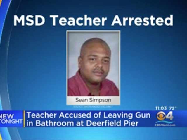 Parkland Teacher Arrested After Leaving Loaded Gun in a Public Bathroom