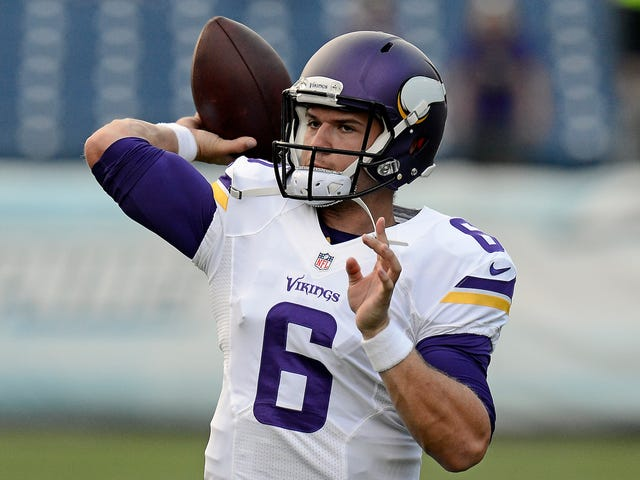 Vikings Backup QB Out Three Months After Reportedly Trying To Kick His Friend's Locked Door In
