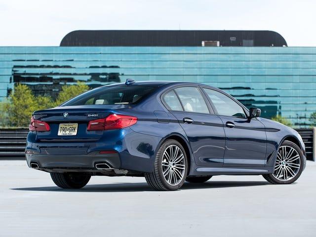 그래서 나는 지난 밤에 BMW 540i M-Sport를 몰 았습니다 ...