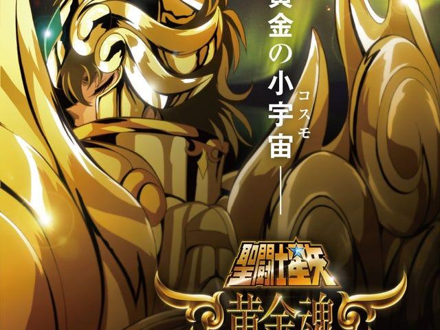 Le casting de Saint Seiya Soul of Gold a été révélé!