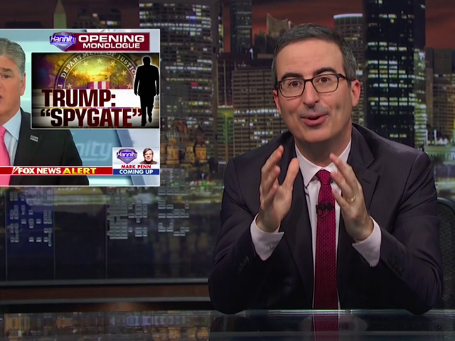 "In his ""Stupid Watergate"" update, John Oliver warns of Trump going ""full O.J."""