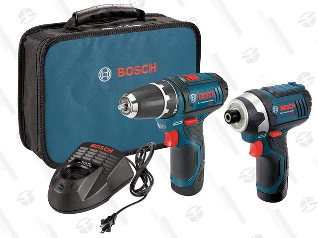 Screw High Prices: Black Friday Is Back For These Bosch Tools, Plus An Extra $20 Off