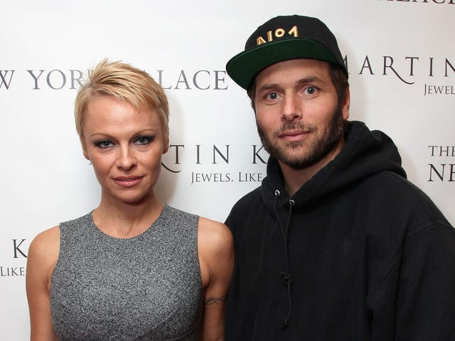 Pamela Anderson Files for Divorce from Rick Salomon...Again