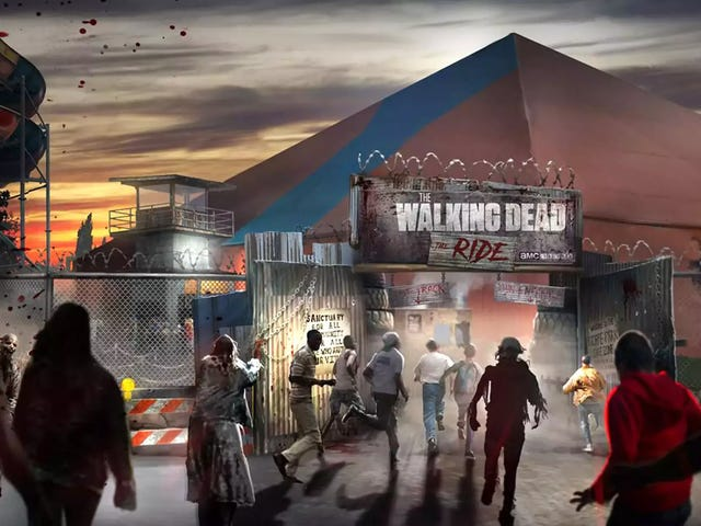 Coming Soon: The World's First Walking Dead Roller Coaster