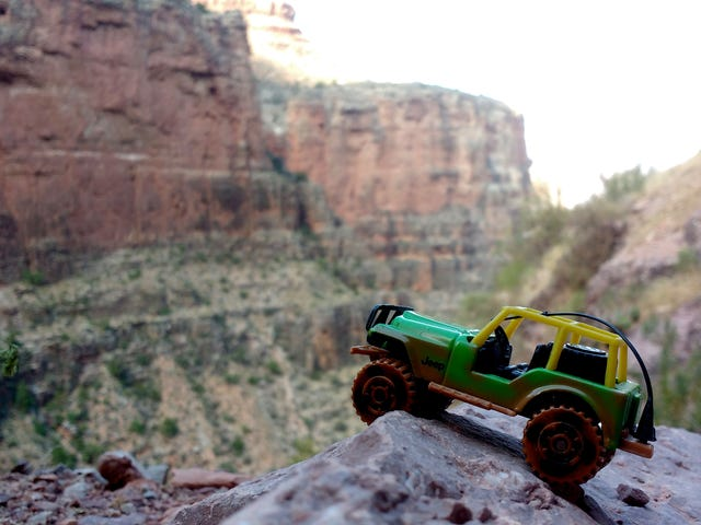 Grand Canyon's Green Jeep Tours