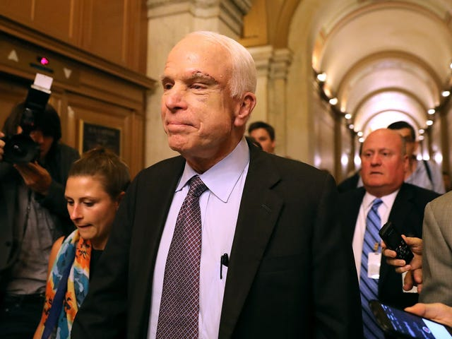 John McCain Was a White American Hero