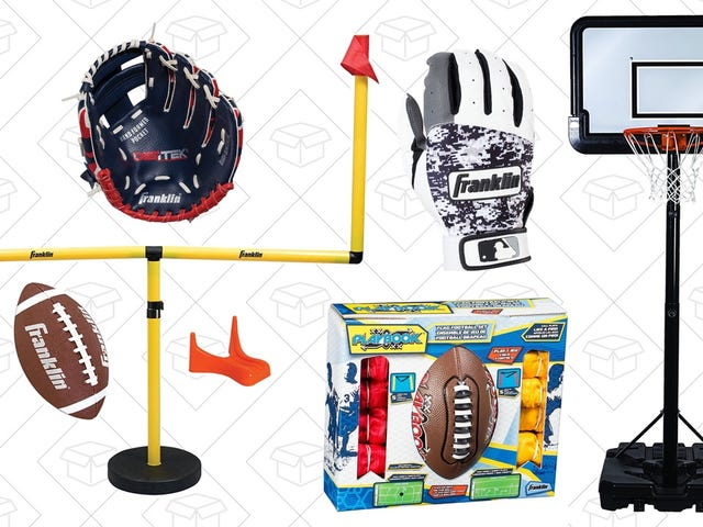 Score With This Youth Sporting Equipment Gold Box, Today Only
