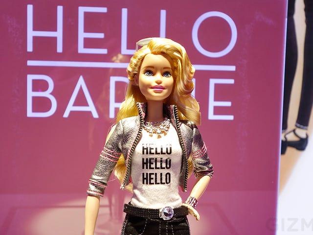 Denna internetanslutna Barbie kan ha fullständiga konversationer med barn