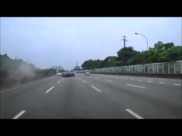 Dumbass Ferrari Driver Forces GTR To Crash