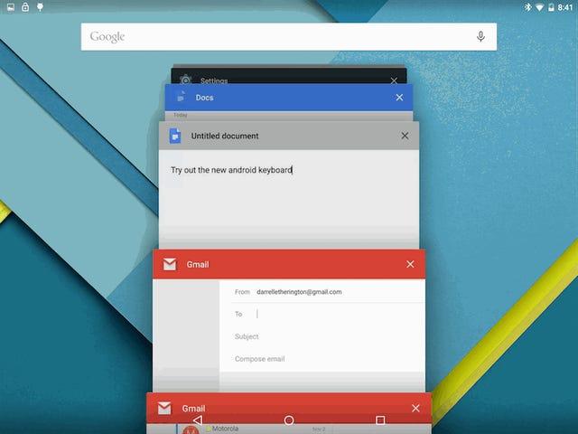 Samsung multi-vindu modus dumper helt opp Android multitasking